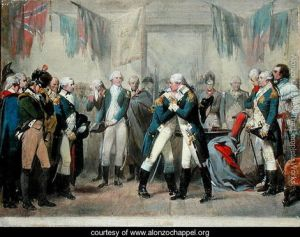 Washington's-Farewell-to-his-Officers
